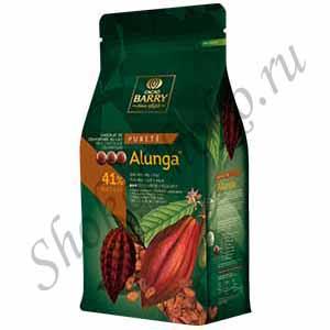 Шоколад молочный 41% какао Alunga Cacao Barry 1 кг (Франция)