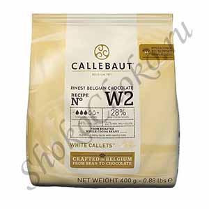 Белый шоколад Callebaut 400 гр