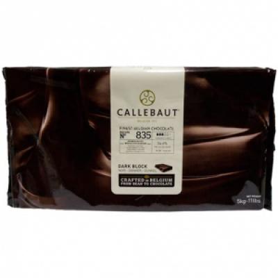 Темный шоколад (Блок) Callebaut 53,8 % какао 5 кг