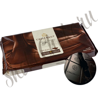 Бельгийский темный шоколад (Блок) Callebaut 53,8 % какао 5 кг
