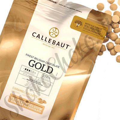 Бельгийский белый шоколад Callebaut gold 2,5 кг