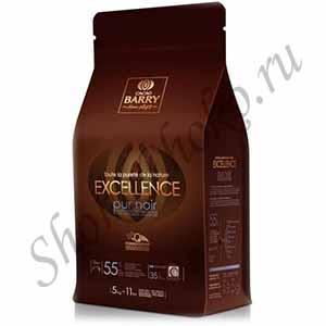 Шоколад темный55% какао Excellence Cacao Barry 5кг(Франция)