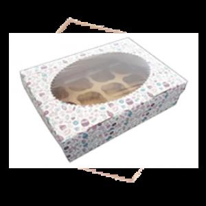 Упаковка для маффинов 9 Sweet (250x250x100)
