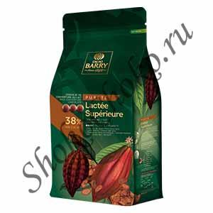 Шоколад молочный38,2% какао Lactee Superieure Cacao Barry 5кг (Франция)