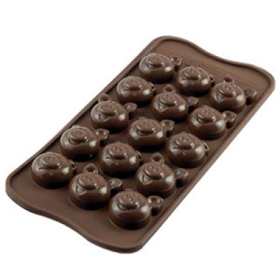 Форма для шоколада Silikomart Scg35 поросята
