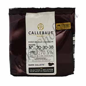 Бельгийский темный шоколад Callebaut 70,5 % какао 400 гр