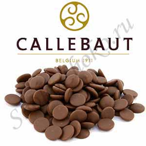 Бельгийский молочный шоколад Callebaut 33,6% какао 1 кг