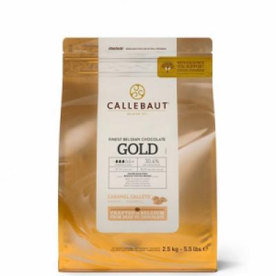 Бельгийский белый шоколад Callebaut gold 500 гр