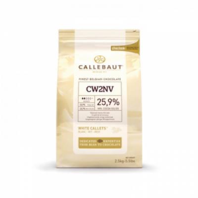 Белый шоколад Callebaut 25,9 % какао 10 кг
