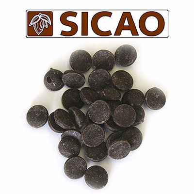 Горький шоколад 70 % какао Sicao 5 кг
