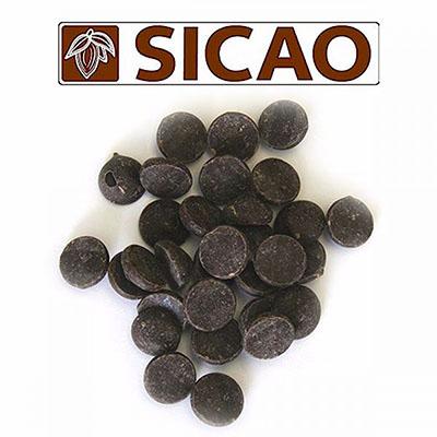 Горький шоколад 70 % какао Sicao 1 кг