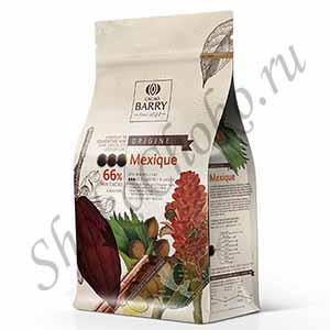 Шоколад темный 66% какао MEXIQUE Cacao Barry 1 кг(Франция)