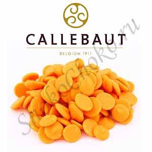Шоколад оранжевый со вкусом апельсина Callebaut 0,2 кг