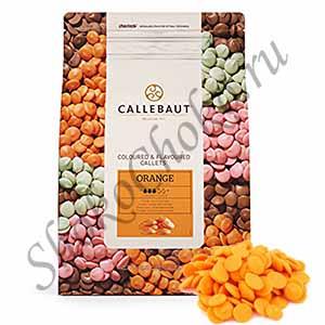 Шоколад оранжевый со вкусом апельсина Callebaut 2,5 кг