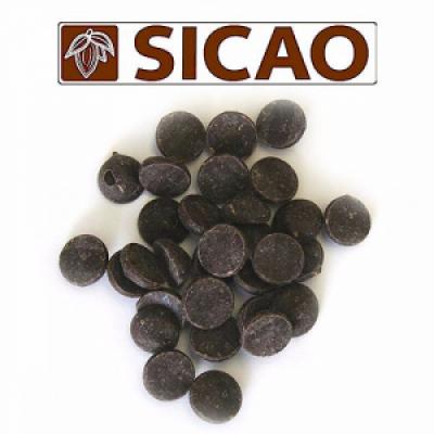Темный шоколад Sicao 53% какао 500 гр