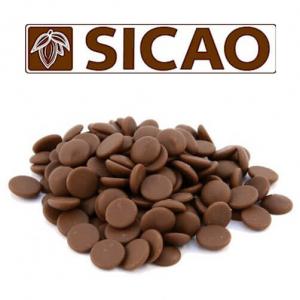 Молочный шоколад Sicao 33% какао 25 кг
