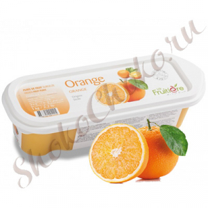 Фруктовое пюре Апельсин 0% сахара, 1кг  La Fruitiere, Франция