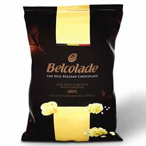 Бельгийский белый шоколад  Belcolade 29,8% 1 кг