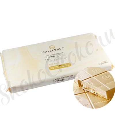 Бельгийский белый шоколад (Блок) Callebaut 25,9 % какао 5 кг