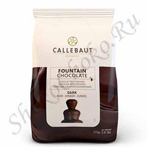 Темный шоколад для фонтанов Callebaut 56,9% 2,5 кг