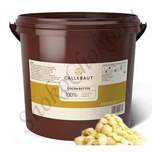 Масло какао Callebaut в каллетах 3 кг