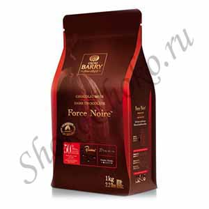 Шоколад темный 50% какаоForce Noire Cacao Barry1 кг (Франция)