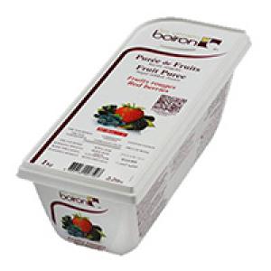 Фруктовое пюре Лесные фрукты 1 кг Буарон, Франция