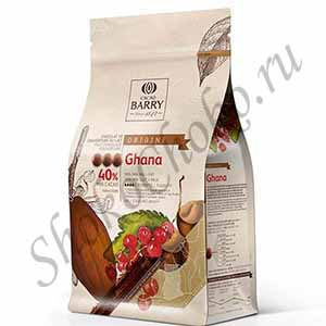 Шоколад молочный 40% какао Ghana Cacao Barry 1 кг (Франция)