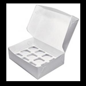 Короб для Капкейков 9 (250x250x100)
