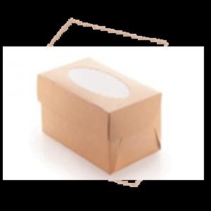 Упаковка для маффинов 6 (250x170x100)