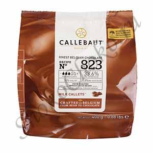 Бельгийский молочный шоколад Callebaut 33,6% какао 400 гр