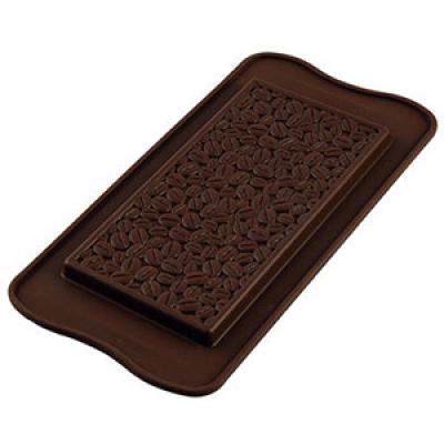 Форма силиконовая ИЗИ-ШОК шокобар кофе Silikomart SCG39