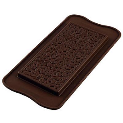 Форма для шоколада Silikomart Scg39 шокобар кофе