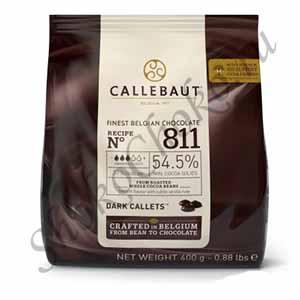 Бельгийский темный шоколад Callebaut 54,5 % какао 400 гр