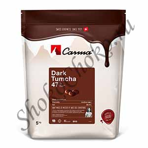 Темный шоколад Tumcha Carma 47 % какао 5 кг