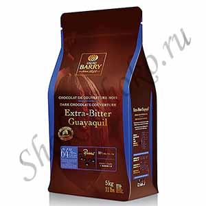 Шоколад темный 64%какао Extra Bitter Guayaquil Cacao Barry5 кг (Франция)