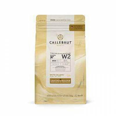 Белый шоколад Callebaut 25,9 % какао 2,5 кг