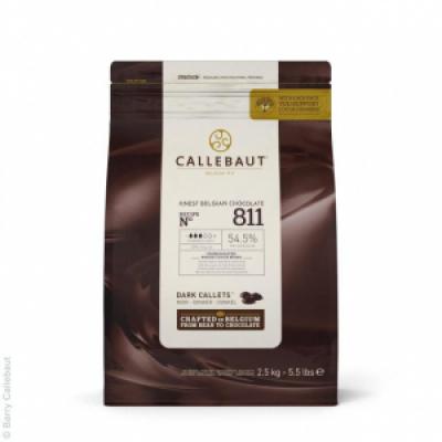 Темный шоколад Callebaut 54,5 % какао 2,5 кг