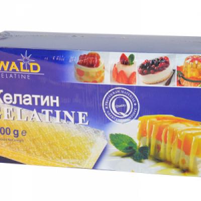 Желатин листовой Ewald 1 кг  Германия