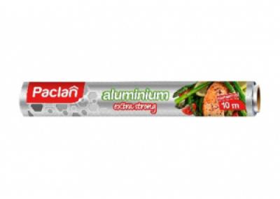 Фольга алюминиевая Paclan Extra strong 10 м*29 см в рулоне