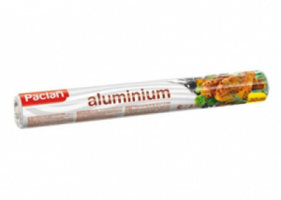 Фольга алюминиевая 30м х 29см в рулоне