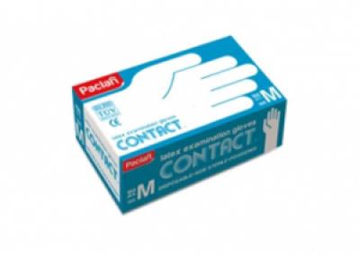 Перчатки латексные (M), 100шт