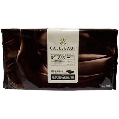 Темный (горький) шоколад Callebaut 70 % какао 5 кг Блок