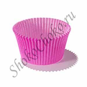 Капсула для конфет розовая 75 шт