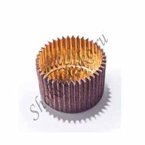 Капсула для конфет золотая Стар 35 шт