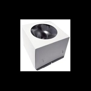 Короб для торта «Эконом» с окном 240x240x220