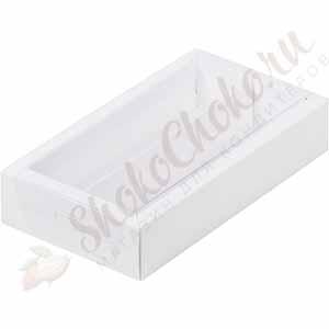 Коробка для конфет с прозрачной крышкой (На 8 конфет)