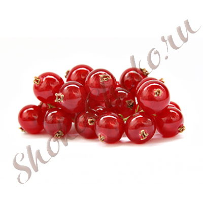 Свежие ягоды красной смородины, 125 грамм