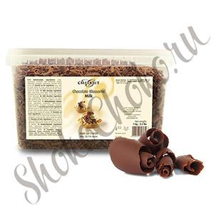 Шоколадная стружка из Молочного шоколада Callebaut, 100 г