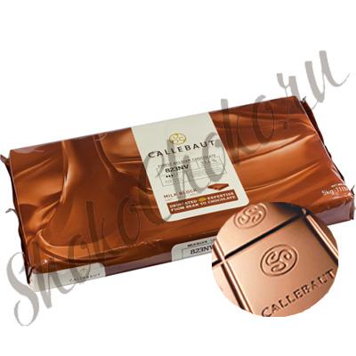 Бельгийский молочный шоколад Блок Callebaut 33,6% какао 5 кг